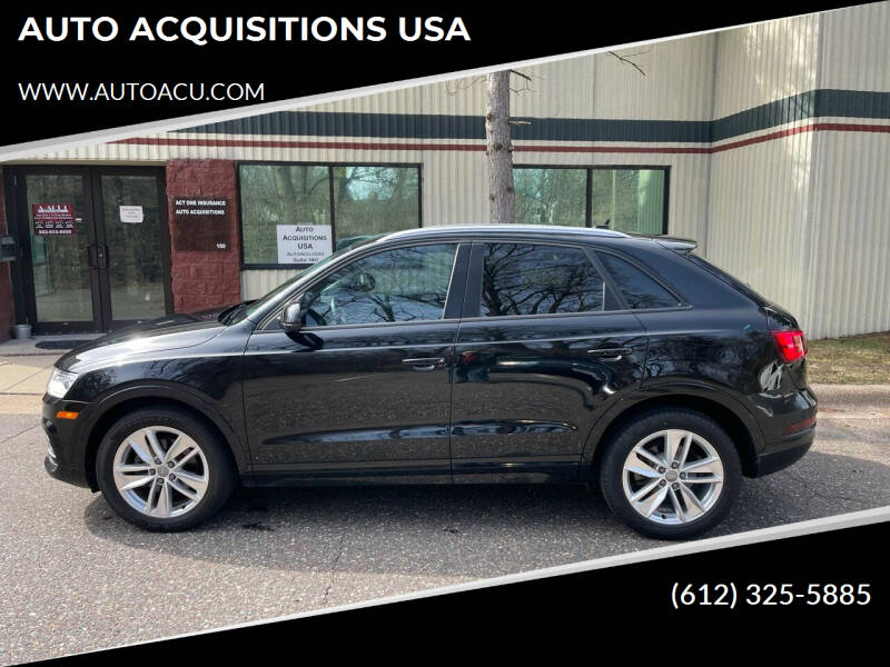 2017 Audi Q3 for sale at AUTO ACQUISITIONS USA in Eden Prairie MN