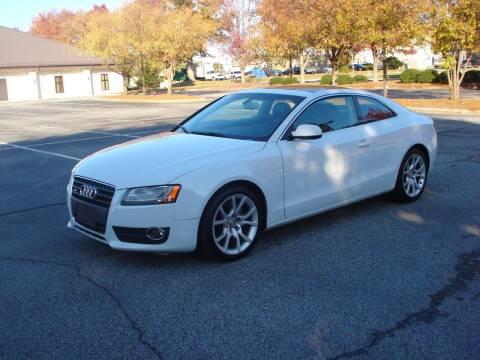 2012 Audi A5 for sale at Uniworld Auto Sales LLC. in Greensboro NC