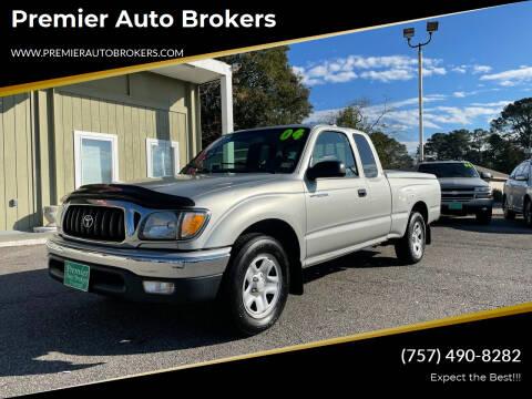 2004 Toyota Tacoma for sale at Premier Auto Brokers in Virginia Beach VA