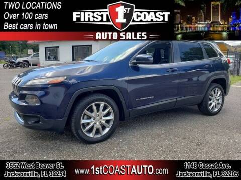 2014 Jeep Cherokee for sale at 1st Coast Auto -Cassat Avenue in Jacksonville FL