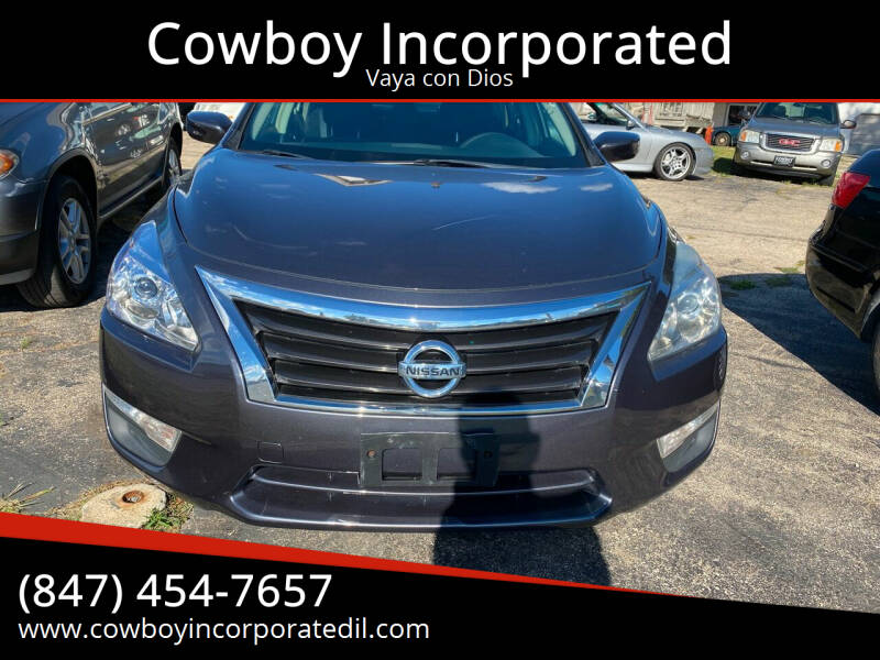 2013 Nissan Altima for sale at Cowboy Incorporated in Waukegan IL