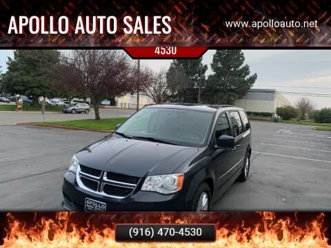 2014 Dodge Grand Caravan for sale at APOLLO AUTO SALES in Sacramento CA