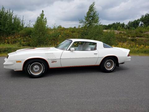 1978 Chevrolet Camaro for sale at GRS Auto Sales and GRS Recovery in Hampstead NH