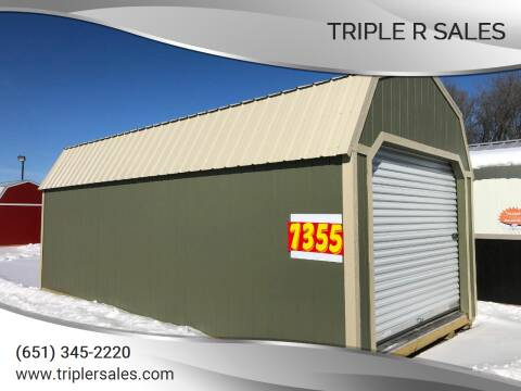 2020 Premier 12x24 Lofted Barn Garage for sale at Triple R Sales in Lake City MN