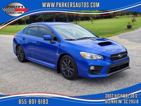 2019 Subaru WRX for sale at Parker's Used Cars in Blenheim SC