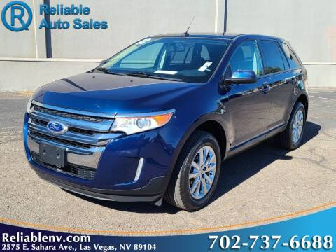 2012 Ford Edge for sale at Reliable Auto Sales in Las Vegas NV