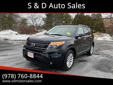 2014 Ford Explorer for sale at S & D Auto Sales in Maynard MA