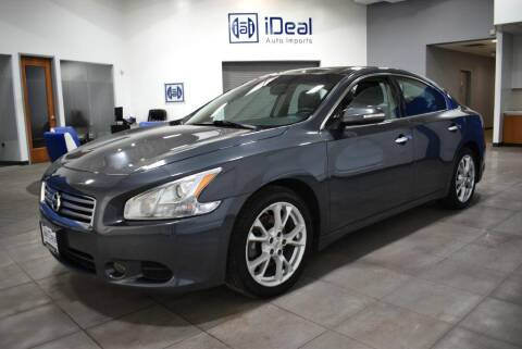 2013 Nissan Maxima for sale at iDeal Auto Imports in Eden Prairie MN