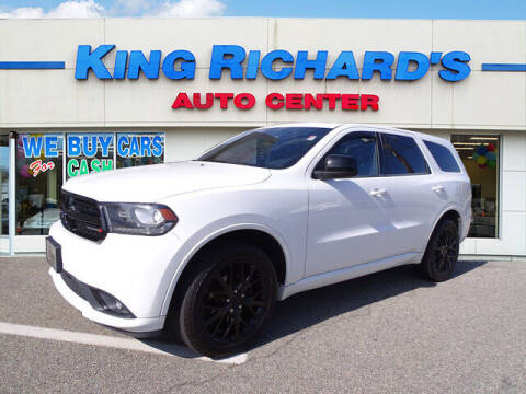 2015 Dodge Durango for sale at KING RICHARDS AUTO CENTER in East Providence RI