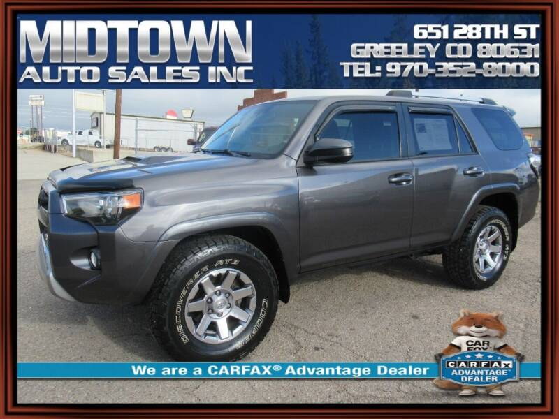 2016 Toyota 4Runner for sale at MIDTOWN AUTO SALES INC in Greeley CO
