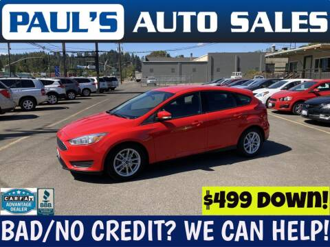 2016 Ford Focus for sale at Paul's Auto Sales in Eugene OR