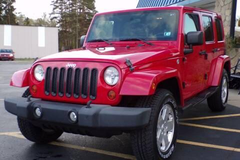 2011 Jeep Wrangler Unlimited for sale at Rogos Auto Sales in Brockway PA