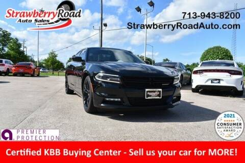 2018 Dodge Charger for sale at Strawberry Road Auto Sales in Pasadena TX