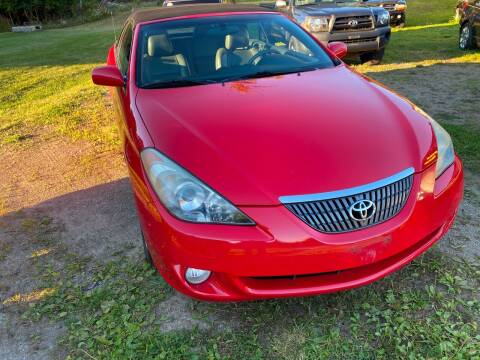 2005 Toyota Camry Solara for sale at Richard C Peck Auto Sales in Wellsville NY