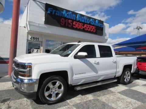 2017 Chevrolet Silverado 1500 for sale at Franklin Auto Sales in El Paso TX