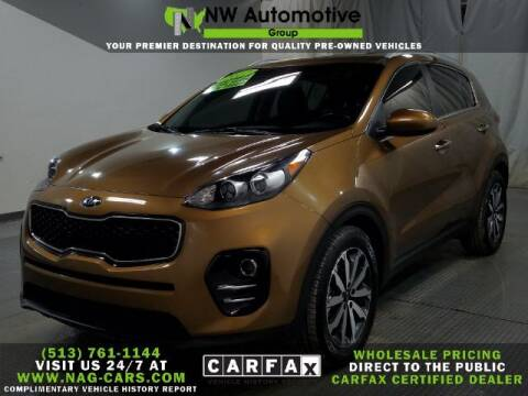 2017 Kia Sportage for sale at NW Automotive Group in Cincinnati OH