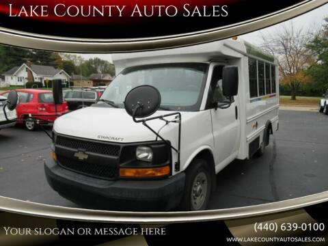 2014 Chevrolet Express Cutaway for sale at Lake County Auto Sales in Painesville OH