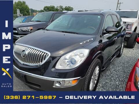 2012 Buick Enclave for sale at Impex Auto Sales in Greensboro NC