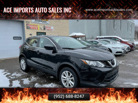 2017 Nissan Rogue Sport for sale at ACE IMPORTS AUTO SALES INC in Hopkins MN