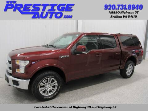 2015 Ford F-150 for sale at Prestige Auto Sales in Brillion WI