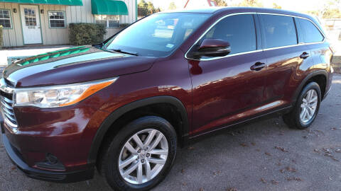 2014 Toyota Highlander for sale at Haigler Motors Inc in Tyler TX