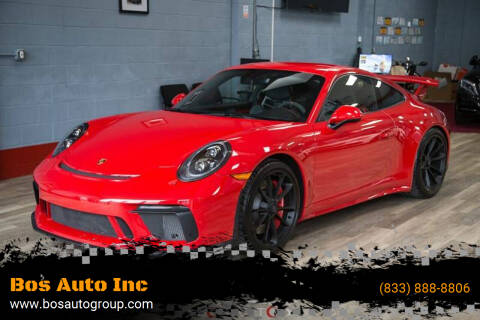 2018 Porsche 911 for sale at Bos Auto Inc in Quincy MA