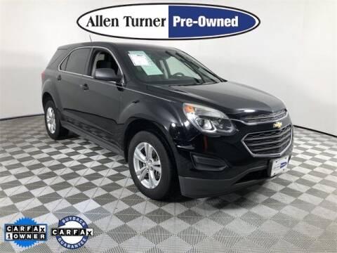 2016 Chevrolet Equinox for sale at Allen Turner Hyundai in Pensacola FL
