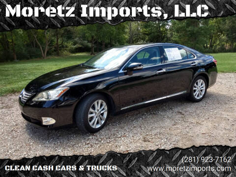 2010 Lexus ES 350 for sale at Moretz Imports, LLC in Spring TX