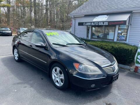 2008 Acura RL for sale at Clear Auto Sales 2 in Dartmouth MA