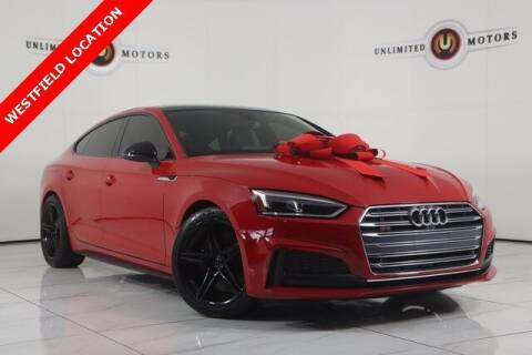 2018 Audi S5 Sportback for sale at INDY'S UNLIMITED MOTORS - UNLIMITED MOTORS in Westfield IN