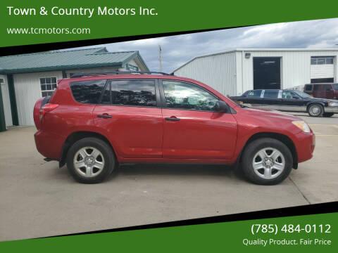 2010 Toyota RAV4 for sale at Town & Country Motors Inc. in Meriden KS