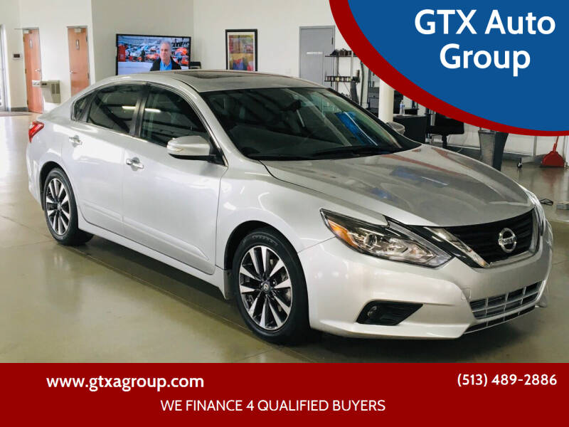 2016 Nissan Altima for sale at GTX Auto Group in West Chester OH