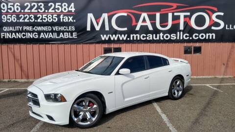 2011 Dodge Charger for sale at MC Autos LLC in Pharr TX