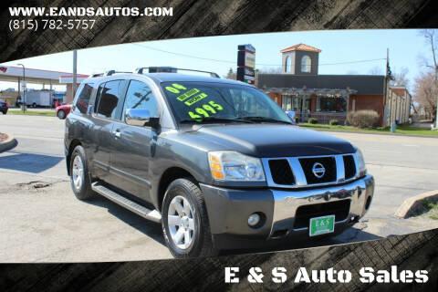 2004 Nissan Armada for sale at E & S Auto Sales in Crest Hill IL