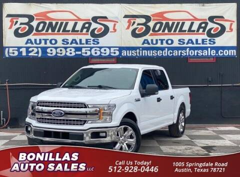 2018 Ford F-150 for sale at Bonillas Auto Sales in Austin TX