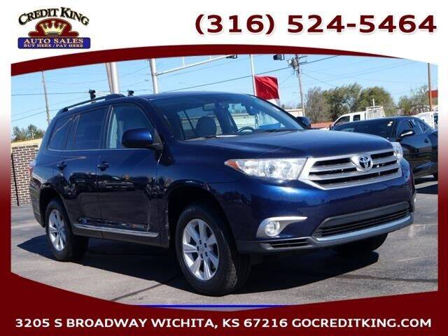 2012 Toyota Highlander for sale at Credit King Auto Sales in Wichita KS
