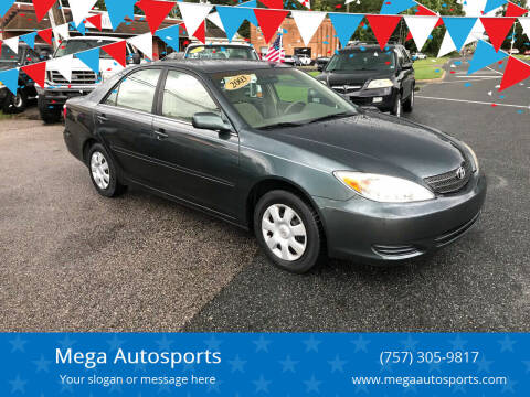 2003 Toyota Camry for sale at Mega Autosports in Chesapeake VA
