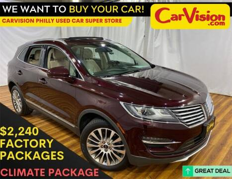 2017 Lincoln MKC for sale at Car Vision Mitsubishi Norristown - Car Vision Philly Used Car SuperStore in Philadelphia PA