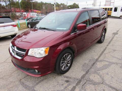 2017 Dodge Grand Caravan for sale at King of Auto in Stone Mountain GA