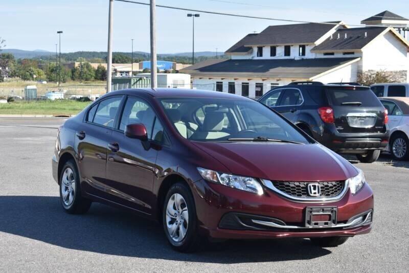2013 Honda Civic for sale at Broadway Motor Car Inc. in Rensselaer NY