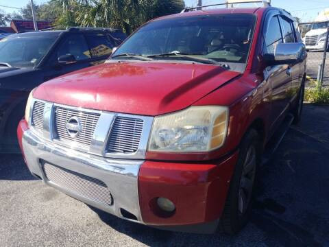 2004 Nissan Armada for sale at Castle Used Cars in Jacksonville FL