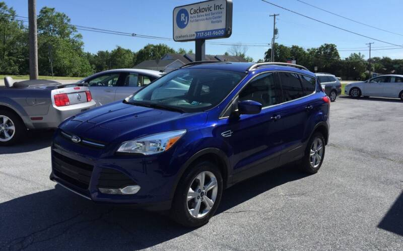 2016 Ford Escape for sale at R J Cackovic Auto Sales, Service & Rental in Harrisburg PA