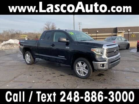 2018 Toyota Tundra for sale at Lasco of Waterford in Waterford MI