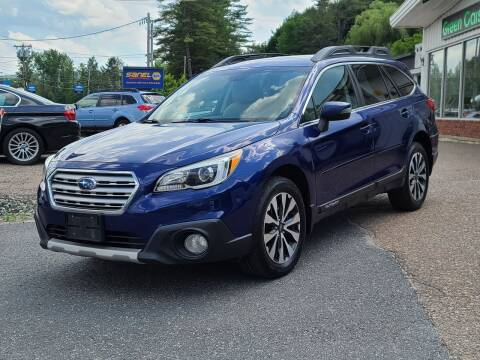 2015 Subaru Outback for sale at Green Cars Vermont in Montpelier VT