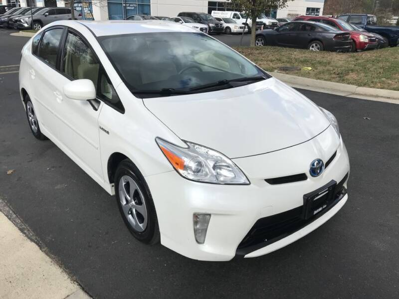 2013 Toyota Prius for sale at Dotcom Auto in Chantilly VA