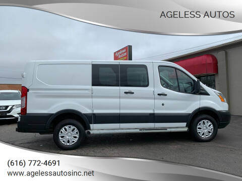 2015 Ford Transit Cargo for sale at Ageless Autos in Zeeland MI