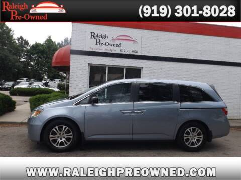 2012 Honda Odyssey for sale at Raleigh Pre-Owned in Raleigh NC