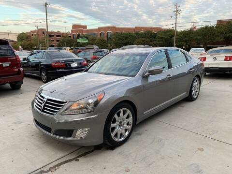 2011 Hyundai Equus for sale at Carflex Auto in Charlotte NC