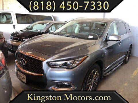 2017 Infiniti QX60 for sale at Kingston Motors in North Hollywood CA