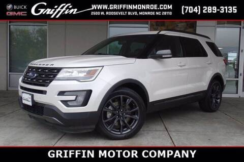 2017 Ford Explorer for sale at Griffin Buick GMC in Monroe NC